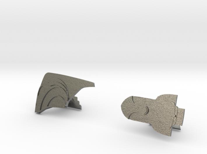 Rocketeer Cufflinks 3d printed
