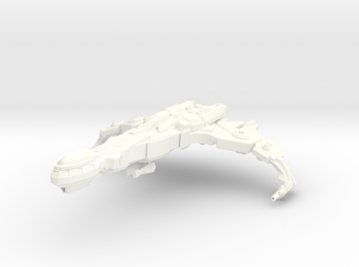 Cha'Joh Class Destroyer 3d printed