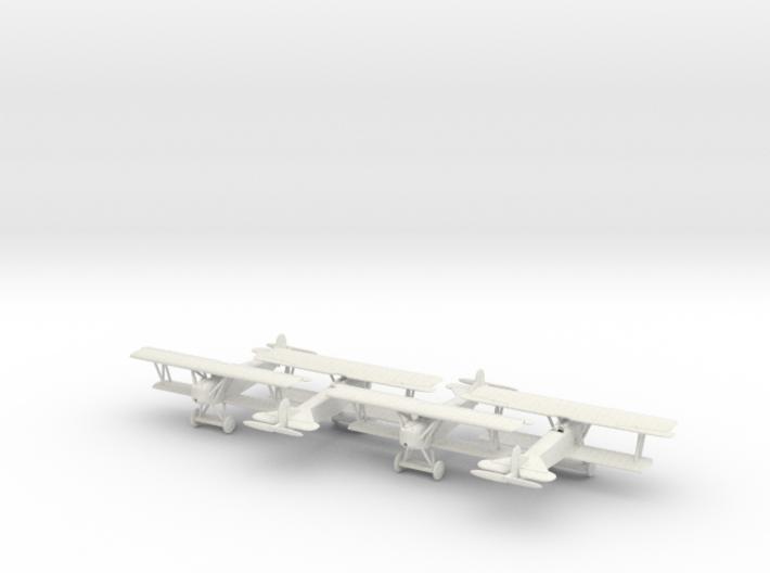 1/144 Fokker D.VII x4 3d printed