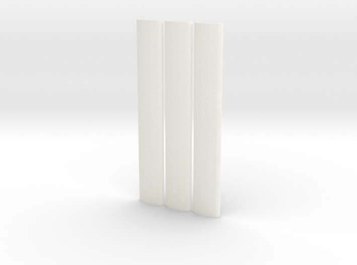 Roof profiles for Worsley Works 3SUB 3d printed