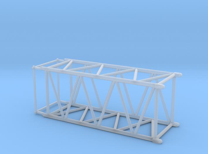 HO/1:87 Crane boom segment short 27.5x32.5 3d printed