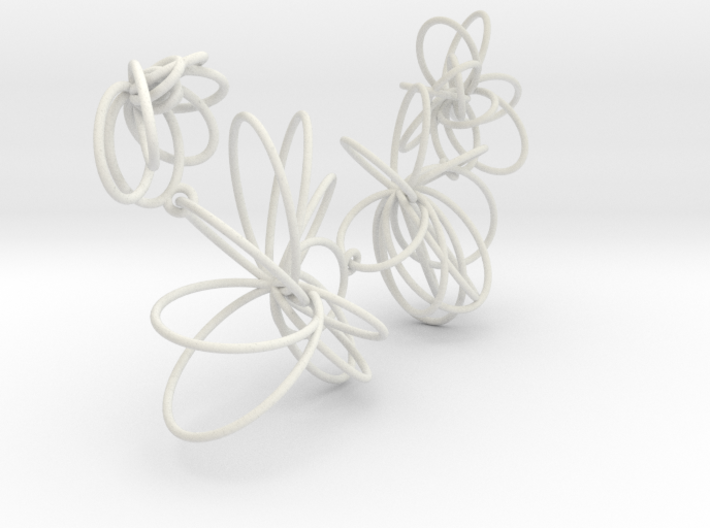 Flora Necklace 3d printed