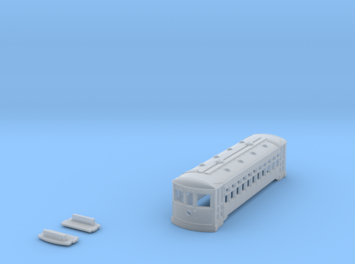 N Scale 2 Truck BIRNEY Shell 3d printed