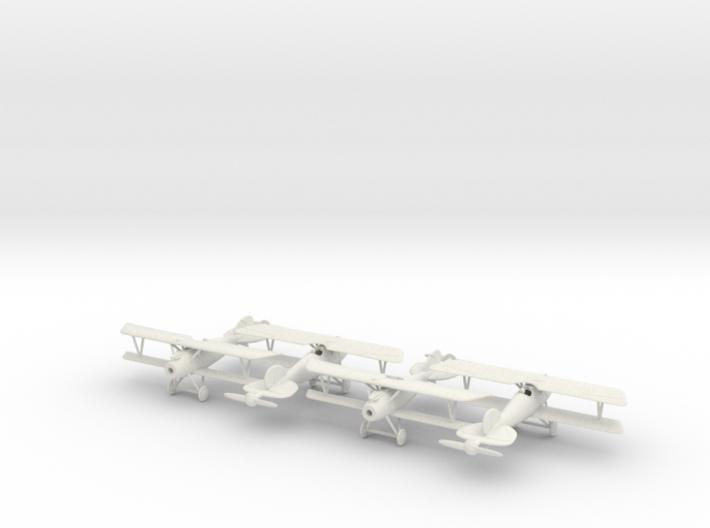 1/144 Albatros D.Va x4 3d printed