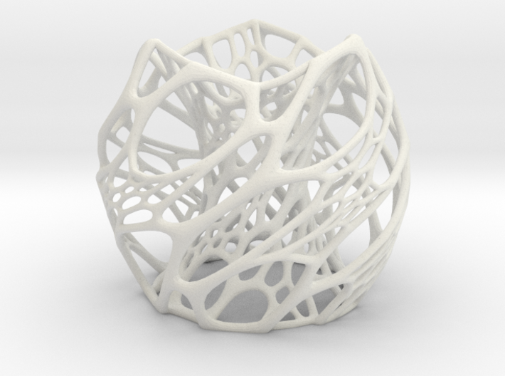 Cellular Lamp Scaled 3d printed