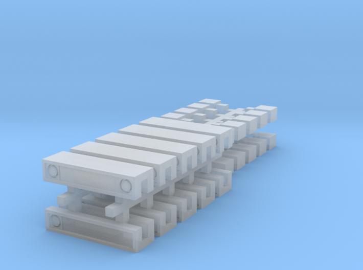 1:87 - DBS 2000 - 15mm - 10St. 3d printed