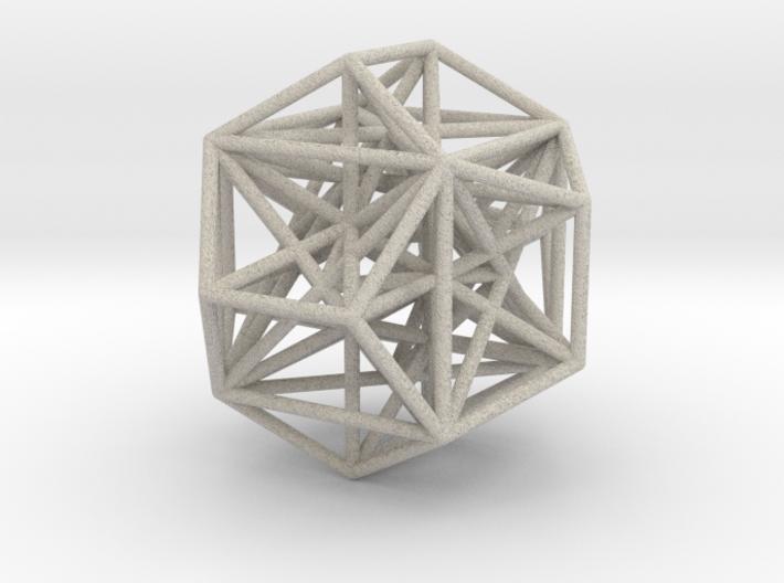 MorphoHedron11 3d printed