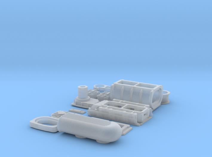 1 12 426 Hemi GMC Blower System 3d printed