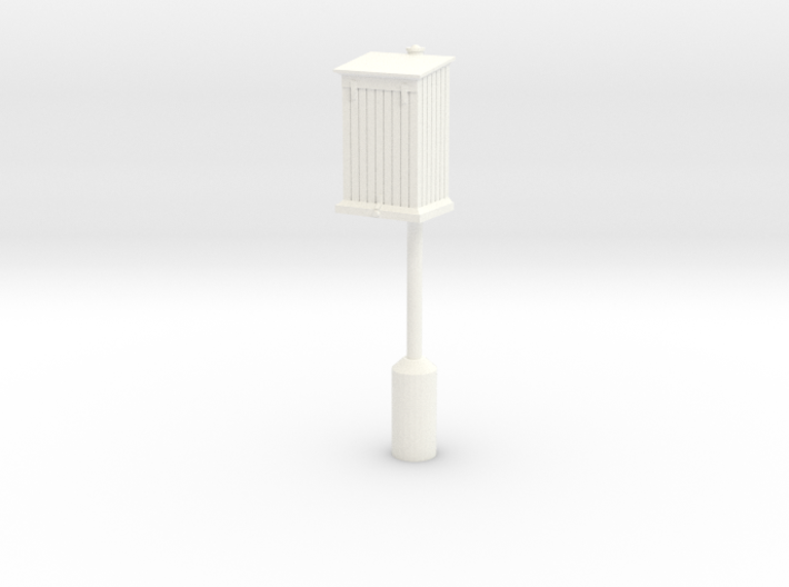 PRR Telephone Box - Extended Base 3d printed