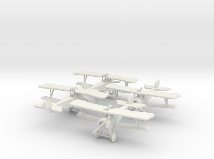 "Nieuport 16 ""Escadrille"" 1:144th Scale 3d printed"