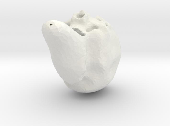 horror skull 3d printed
