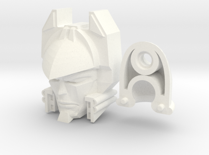 Deathsaurus Head (2 Piece) 3d printed