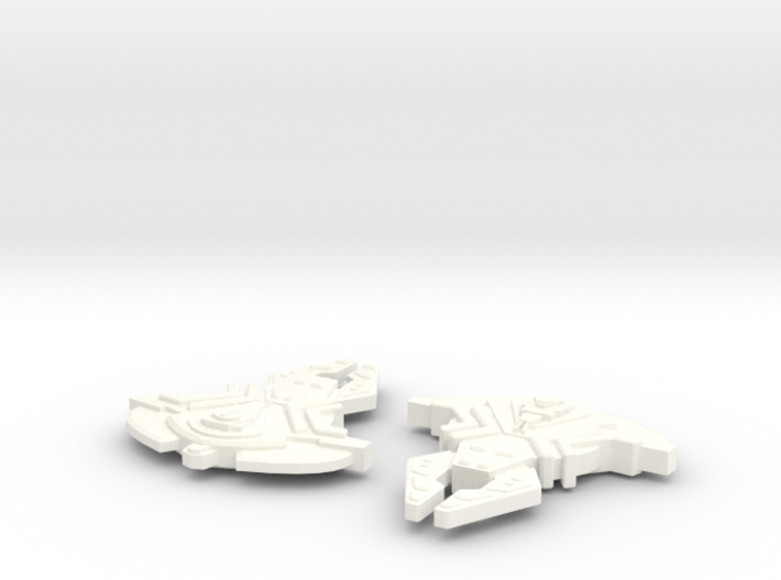 Corridan Class Cardassian Attack Ship 3d printed