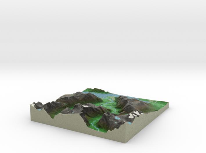 Terrafab generated model Fri Sep 27 2013 12:02:54 3d printed