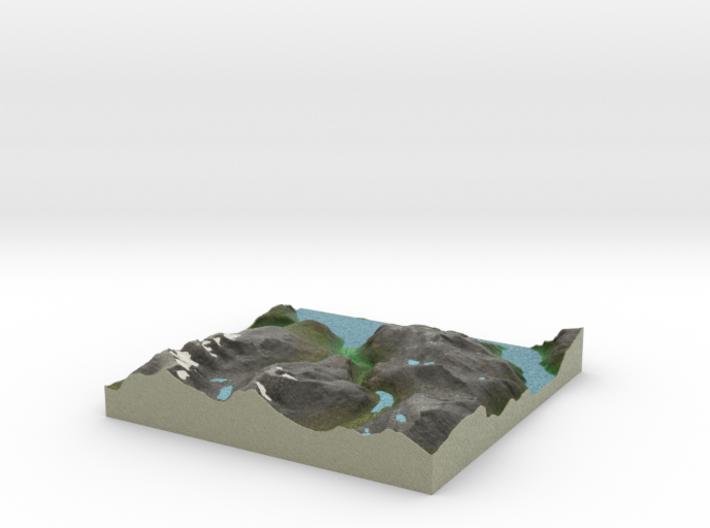 Terrafab generated model Fri Sep 27 2013 11:49:18 3d printed