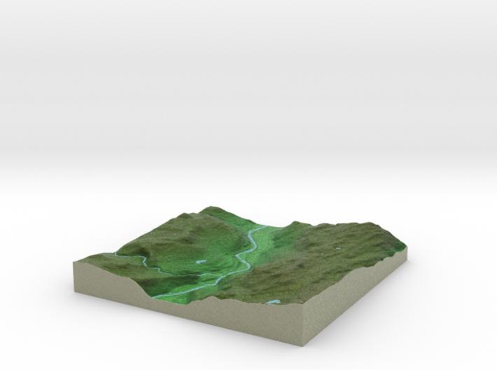 Terrafab generated model Fri Sep 27 2013 15:14:03 3d printed