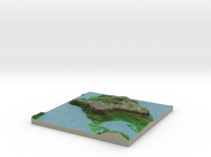 Terrafab generated model Fri Sep 27 2013 14:36:15 3d printed