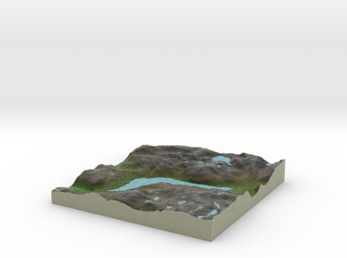 Terrafab generated model Fri Sep 27 2013 15:00:56 3d printed