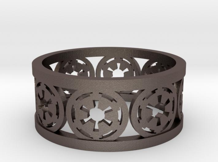 Star Wars Empire Insignia Band Ring 3d printed