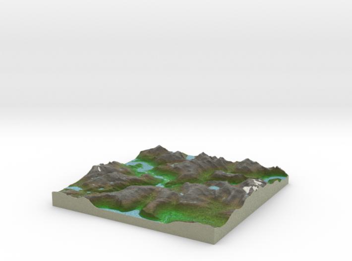Terrafab generated model Fri Sep 27 2013 21:12:39 3d printed