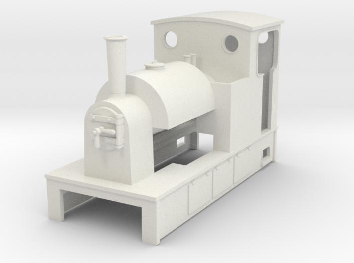 009 Saddle Tank loco 3d printed