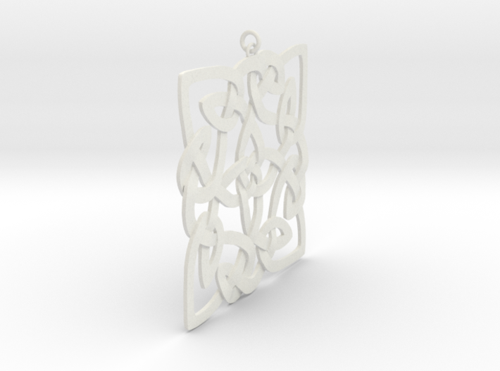 Celtic Pendent 3a 3d printed