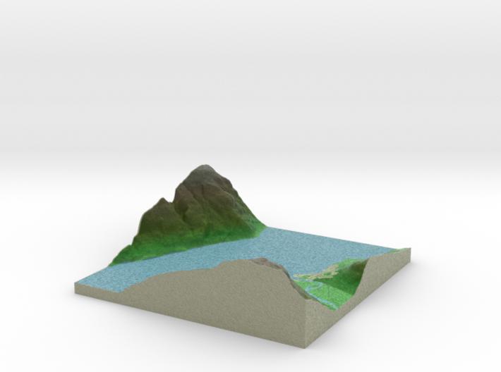 Terrafab generated model Wed Oct 02 2013 18:04:25 3d printed