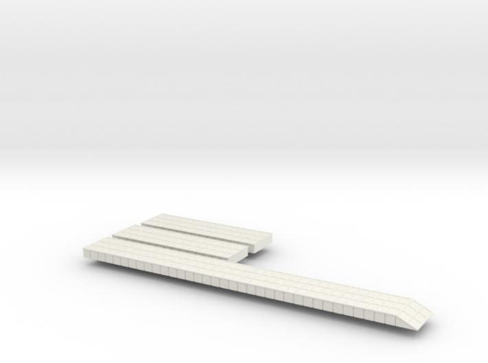Pontoon Causeways 1/600 Scale 3d printed