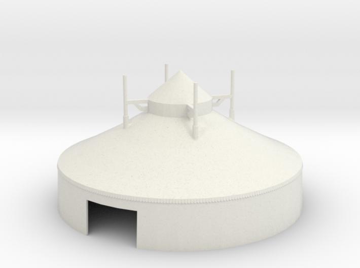 Zelt - 16 Meter - 1:160 (n scale) 3d printed