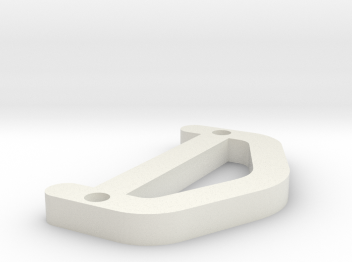 D OCR A EXTENDED 3d printed