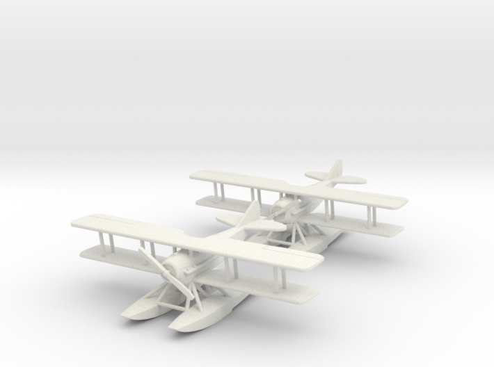 "SPAD XIV ""Wingman"" 1:144th Scale 3d printed"