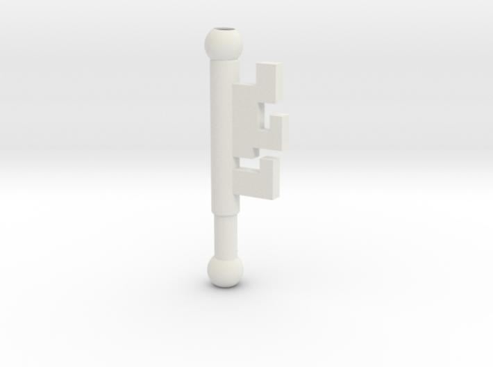 Garnet Rod Key Part 1 3d printed