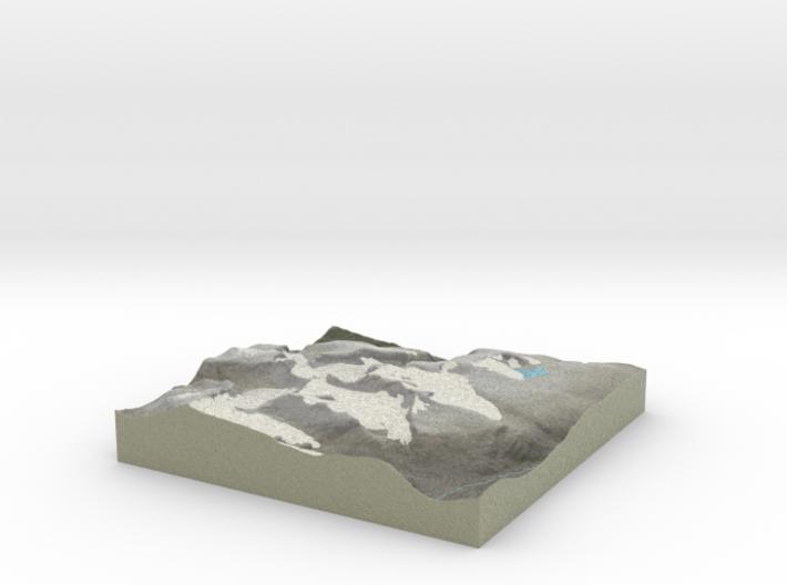 Terrafab generated model Fri Oct 11 2013 20:37:57 3d printed