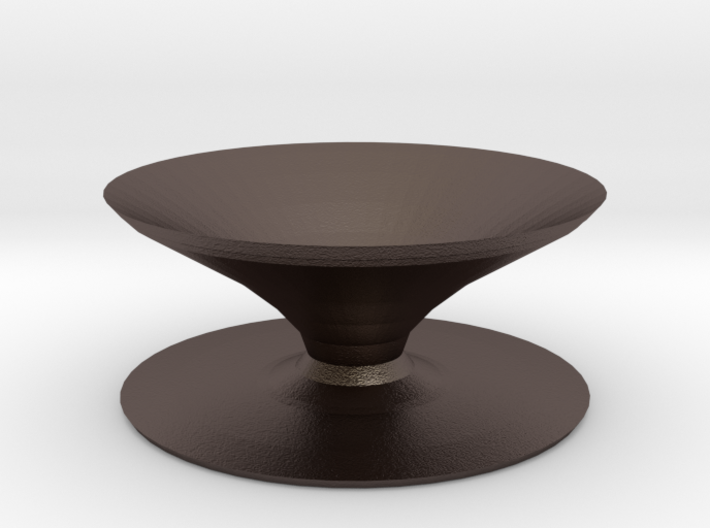 magpie bird bath 3d printed