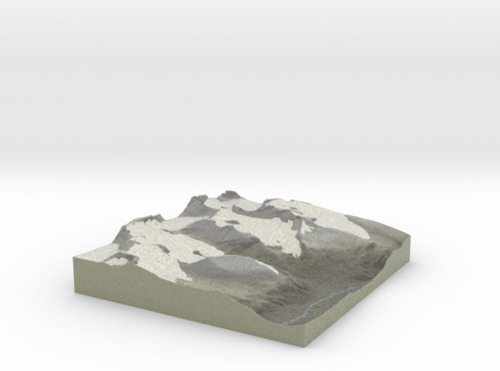 Terrafab generated model Wed Oct 09 2013 11:53:10 3d printed