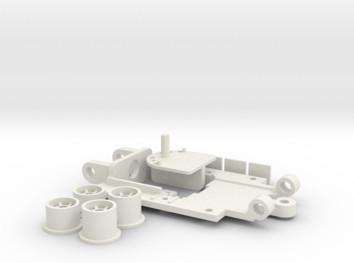 PDR Mini Chassis 43 V4 Standard 3d printed