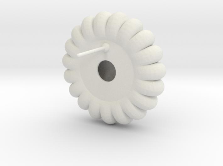 Lyncorin Earring 1 3d printed