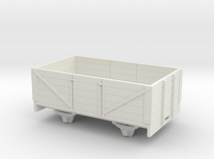 1:32/1:35 5 plank coal wagon long 3d printed