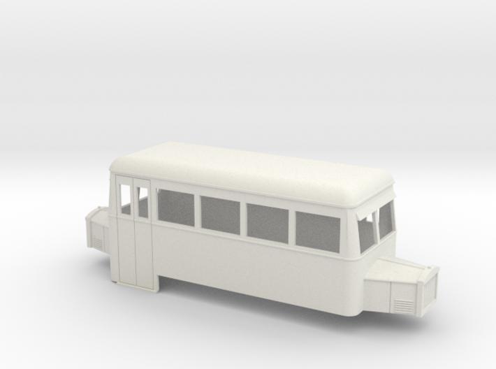 1:32/1:35 railbus 4w double end 3d printed