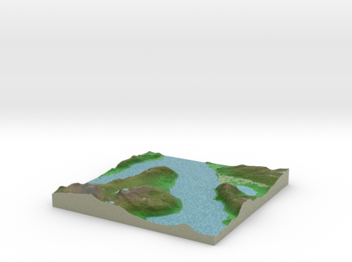 Terrafab generated model Fri Oct 25 2013 02:00:31 3d printed