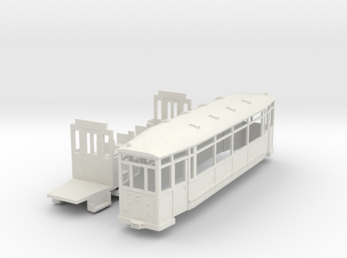 Beiwagen Thueringer Waldbahn 3d printed