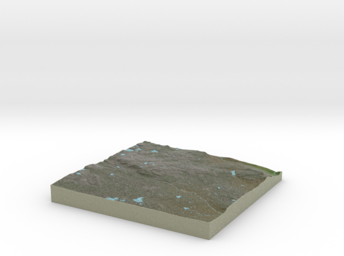 Terrafab generated model Sun Oct 20 2013 22:15:12 3d printed
