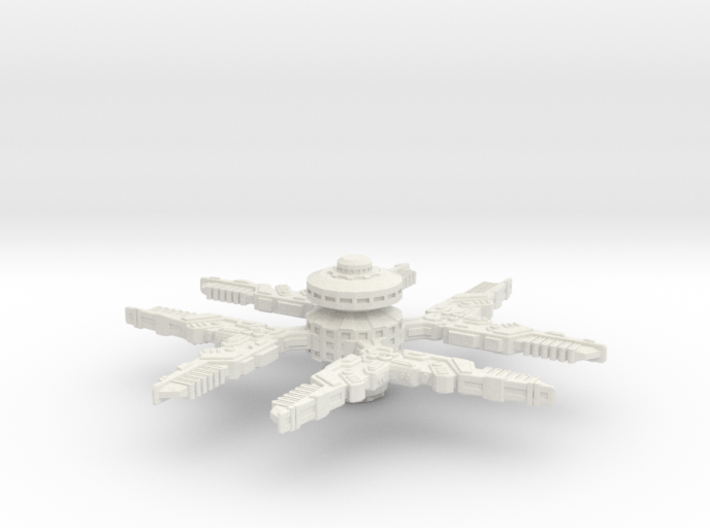 Cardassian Station Modified (Larger) 3d printed