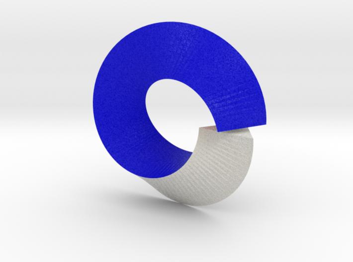 Triangular Toroid with Möbius Twist 3d printed
