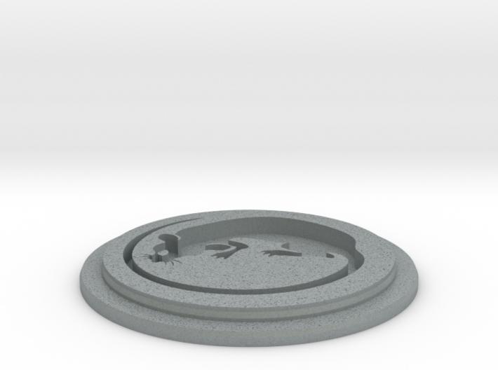 Rat Team Disk 3d printed