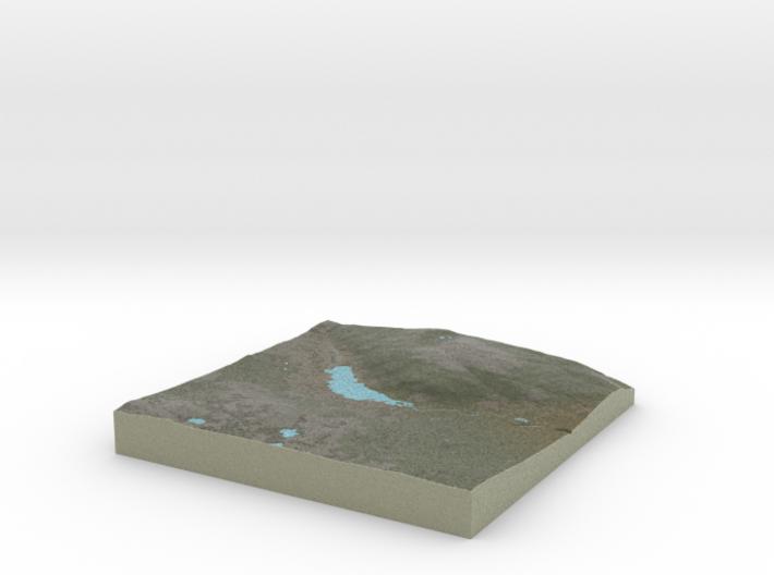 Terrafab generated model Wed Nov 06 2013 13:01:53 3d printed