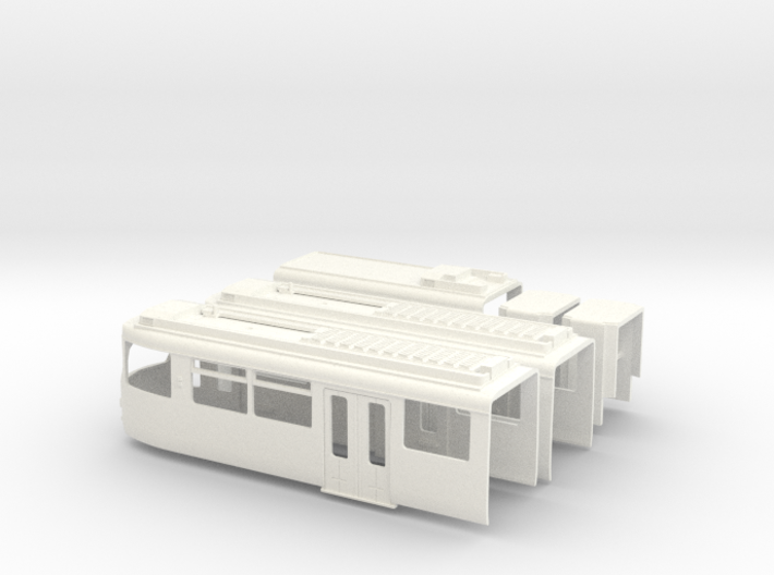 Gehäuse Rheinbahn GT8S 3d printed