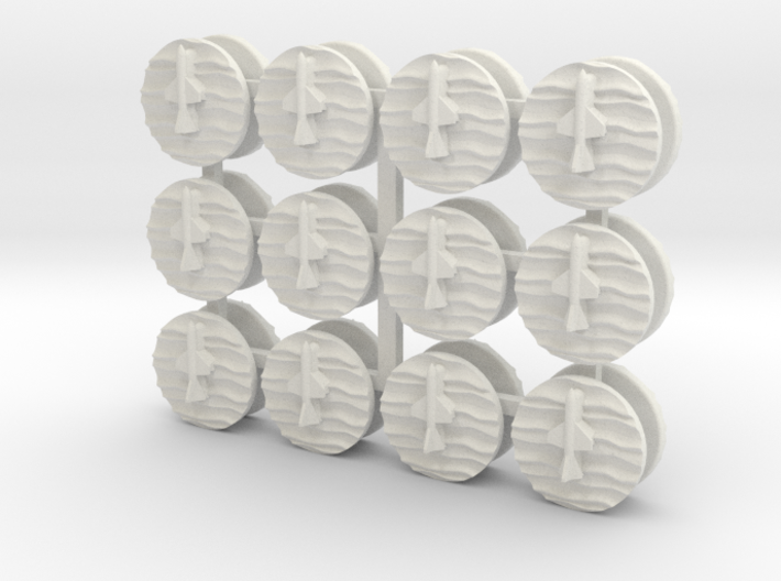 07OT02 24xSSM Markers 3d printed