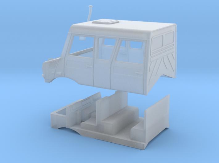 U5000 Gruppenkabine 3d printed
