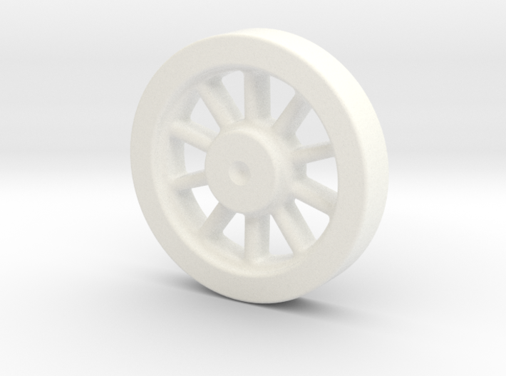 Kozo Hiraoka K-27 Driving Wheel Pattern LIVE STEAM 3d printed